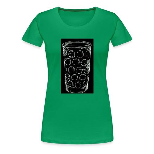 Leergut Dubbeglas -schwarz - Frauen Premium T-Shirt