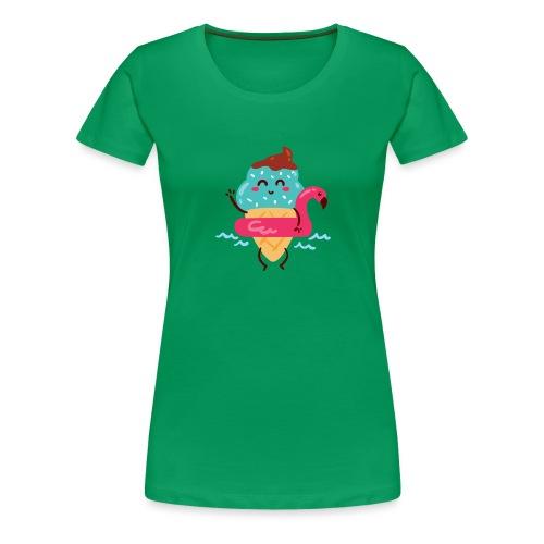 helado kawai - Camiseta premium mujer