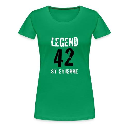 ST ETIENNE LEGEND 42 - T-shirt Premium Femme