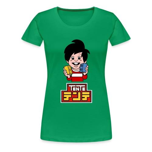 Nen_japones_spreadshirt - Camiseta premium mujer