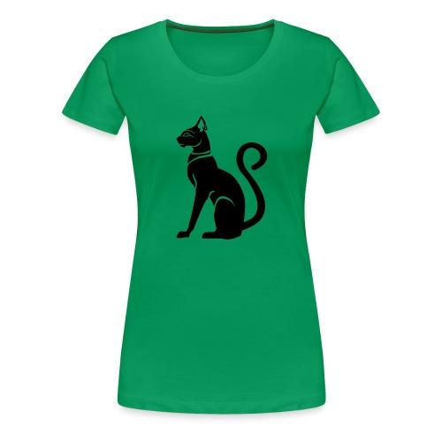 Bastet - Katzengöttin im alten Ägypten - Frauen Premium T-Shirt