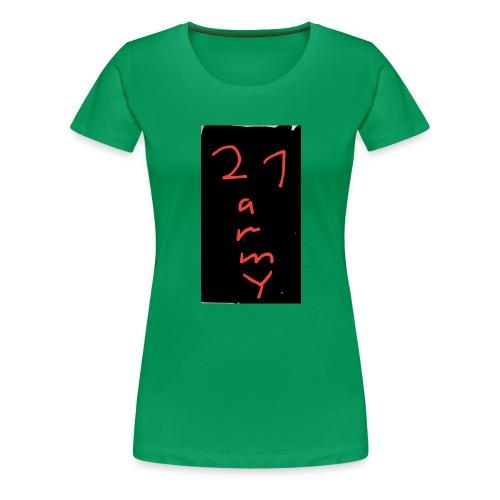 #21 army - Frauen Premium T-Shirt