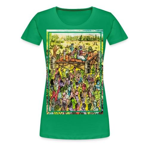 Concierto ecléctico - Camiseta premium mujer