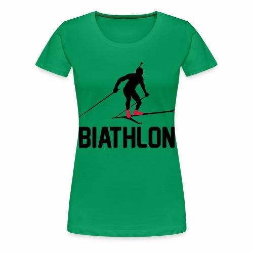 Biathlon - Frauen Premium T-Shirt