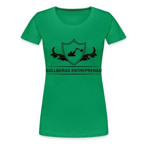 Gullbergs Entreprenad - Premium-T-shirt dam