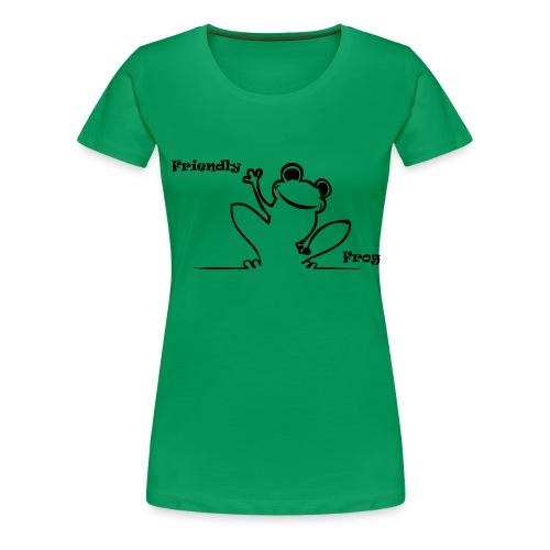 friendly_frog - Women's Premium T-Shirt