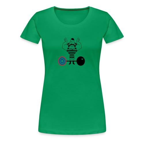uomo_forzuto3-0 - Maglietta Premium da donna