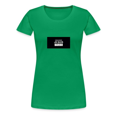 je suis barbu - T-shirt Premium Femme