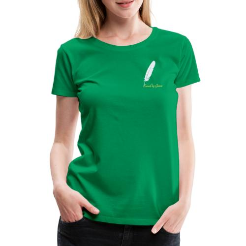 Saved by Grace - Frauen Premium T-Shirt