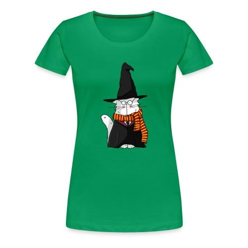 Le chat sorcier - T-shirt Premium Femme