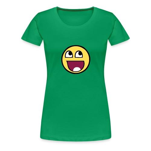 Smile - Vrouwen Premium T-shirt