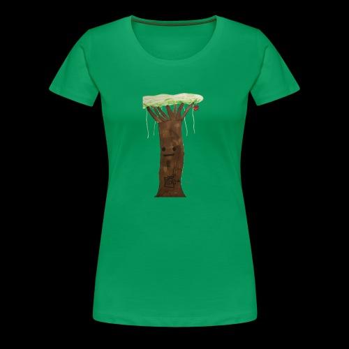 1 2 3 BY TAiTO - Naisten premium t-paita
