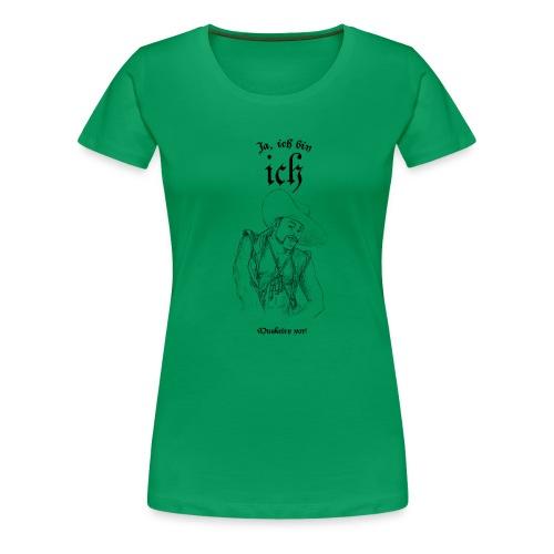Musketier vorne - Frauen Premium T-Shirt