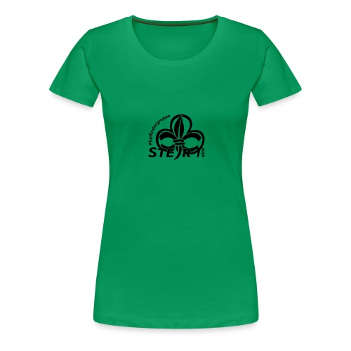 pfadi profil frei schwarz - Frauen Premium T-Shirt