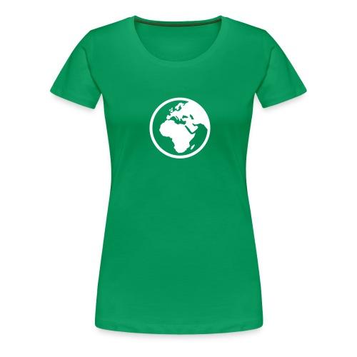 world - Frauen Premium T-Shirt