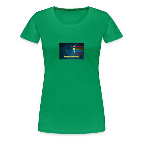 Mustafaalsaeedi - Premium-T-shirt dam