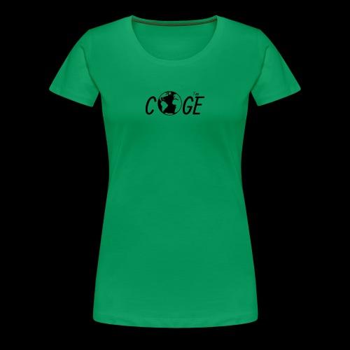 Coge - Premium T-skjorte for kvinner