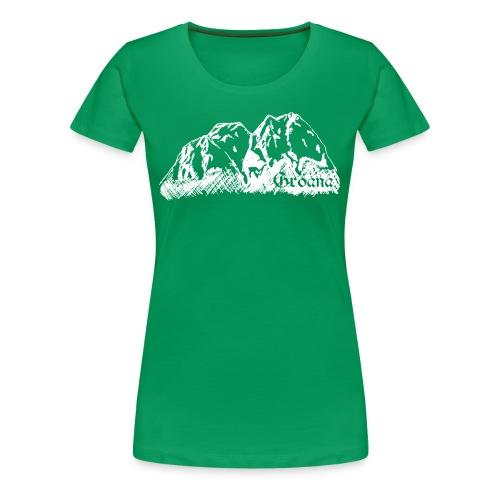weiss png - Frauen Premium T-Shirt