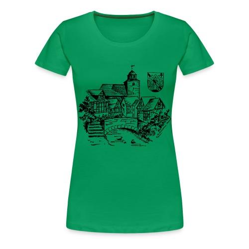Ronshausen historisch - Frauen Premium T-Shirt