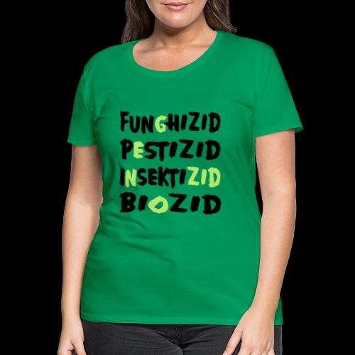 genozid - Frauen Premium T-Shirt