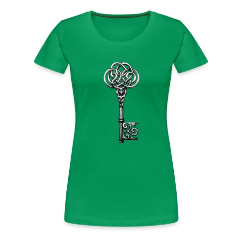 CHAVE-celtic-key-png - Camiseta premium mujer