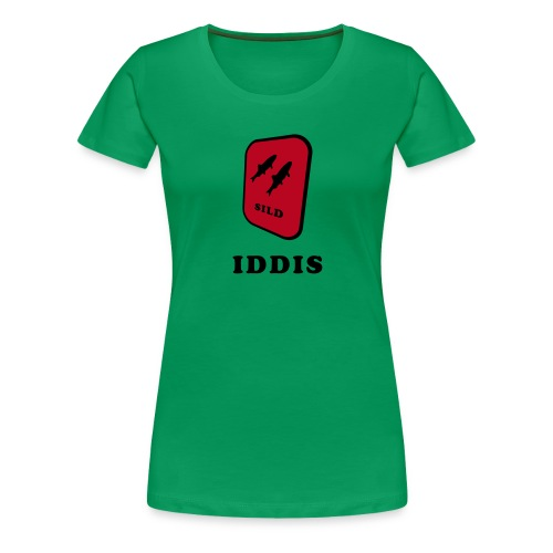 iddis2 - Premium T-skjorte for kvinner