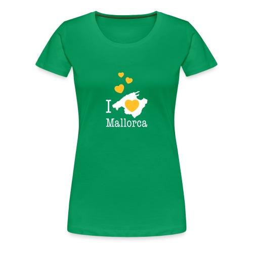 love Mallorca Balearen Spanien Ferieninsel Urlaub - Frauen Premium T-Shirt