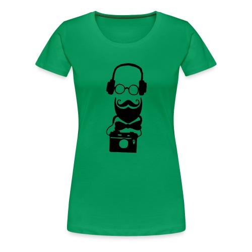 Hippster - Frauen Premium T-Shirt