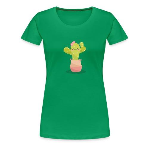 cactus 1 - Camiseta premium mujer