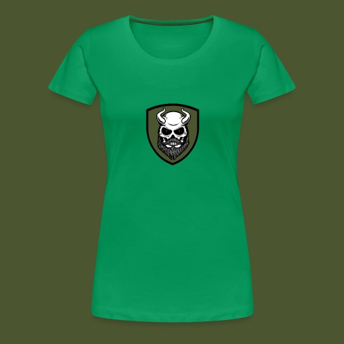 Beardevil Patch - Premium-T-shirt dam