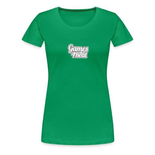 Games4Real - Vrouwen Premium T-shirt