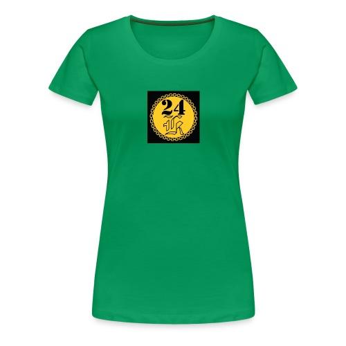 24k - Premium-T-shirt dam