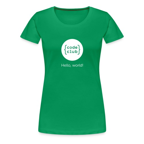 cchelloworld - Women's Premium T-Shirt