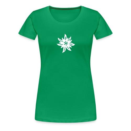 Edelweiss - Frauen Premium T-Shirt