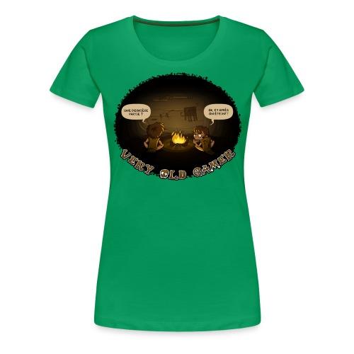 very old gamer Homme - T-shirt Premium Femme
