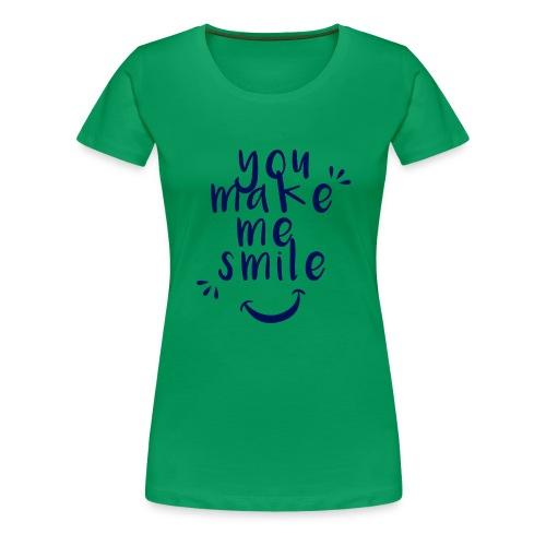 Smile.png - Frauen Premium T-Shirt