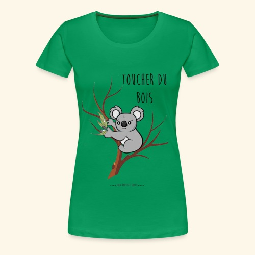 koala sur son arbre - T-shirt Premium Femme