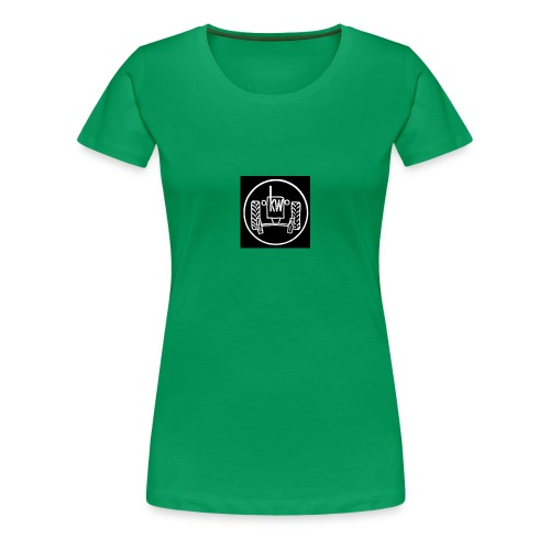 traktor-stempel - Frauen Premium T-Shirt