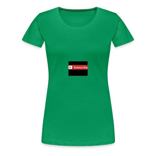 subsribe - Women's Premium T-Shirt