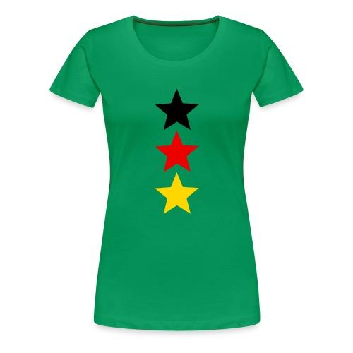 3 Sterne Deutschland #1 - Frauen Premium T-Shirt