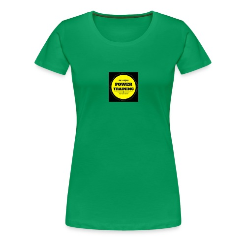 POWER TRAINING - T-shirt Premium Femme