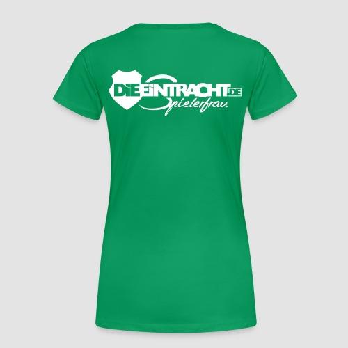 Spielerfrau #white - Frauen Premium T-Shirt