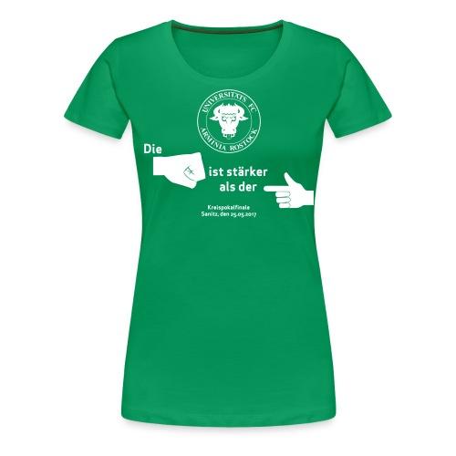 Pokalfinale 16 17 alles - Frauen Premium T-Shirt