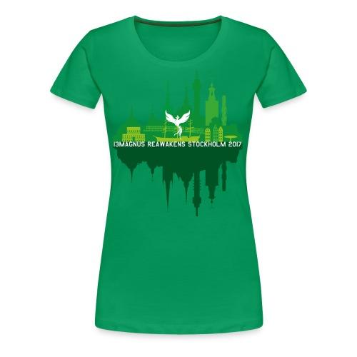 13MAGNUS Stockholm Mirror - Women's Premium T-Shirt