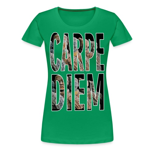 VIVE EL MOMENTO MERKOS - Camiseta premium mujer