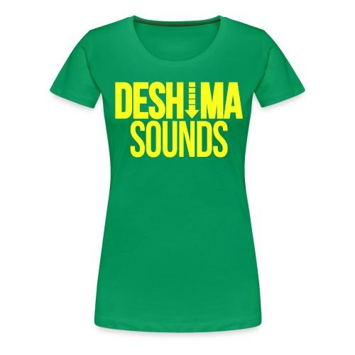 Yellow - Vrouwen Premium T-shirt