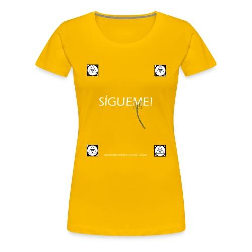 Trackers Sigueme - Camiseta premium mujer