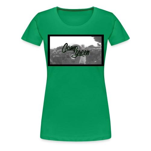 CampGreen Skyline - Frauen Premium T-Shirt