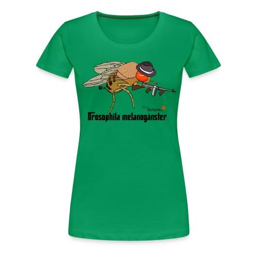 melanoganster camiseta v2 png - Camiseta premium mujer