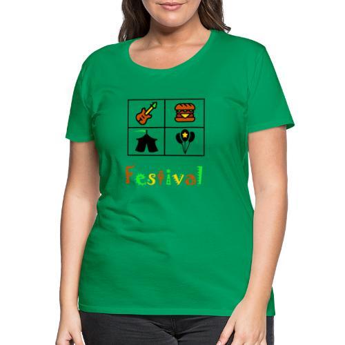 Festival Saison - Frauen Premium T-Shirt